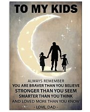 To my kids 2 girl 11x17 Poster front
