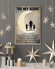To my kids 2 girl 11x17 Poster lifestyle-holiday-poster-1