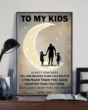 To my kids 2 girl 11x17 Poster lifestyle-poster-2