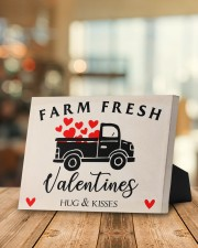Farm Fresh Valentines HN011305DH Customize Name 10x8 Easel-Back Gallery Wrapped Canvas aos-easel-back-canvas-pgw-10x8-lifestyle-front-03