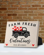 Farm Fresh Valentines HN011305DH Customize Name 10x8 Easel-Back Gallery Wrapped Canvas aos-easel-back-canvas-pgw-10x8-lifestyle-front-05