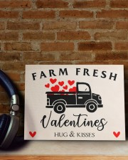 Farm Fresh Valentines HN011305DH Customize Name 10x8 Easel-Back Gallery Wrapped Canvas aos-easel-back-canvas-pgw-10x8-lifestyle-front-06