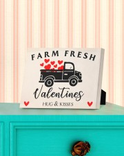 Farm Fresh Valentines HN011305DH Customize Name 10x8 Easel-Back Gallery Wrapped Canvas aos-easel-back-canvas-pgw-10x8-lifestyle-front-13