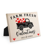 Farm Fresh Valentines HN011305DH Customize Name 10x8 Easel-Back Gallery Wrapped Canvas front