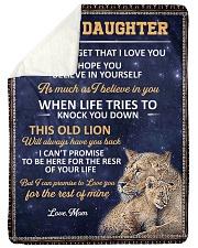 lion 3 mom Sherpa Fleece Blanket tile