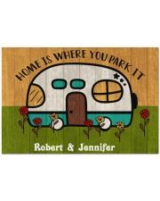 """Home HN010502NA Doormat 34"""" x 23"""" front"""