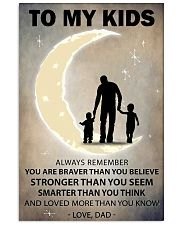 To my kids 2 boys 11x17 Poster front
