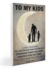 To my kids 2 boys Gallery Wrapped Canvas Prints tile