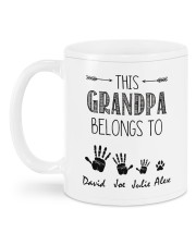 This Grandpa Belong To HN011306DH Customize Name Mug back