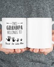 This Grandpa Belong To HN011306DH Customize Name Mug ceramic-mug-lifestyle-32