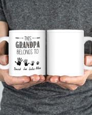 This Grandpa Belong To HN011306DH Customize Name Mug ceramic-mug-lifestyle-34