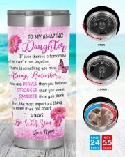 Amazing daughter tumbler 20oz Tumbler aos-20oz-tumbler-lifestyle-front-44