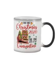 Mug Christmas 2020 Quarantine Color Changing Mug tile