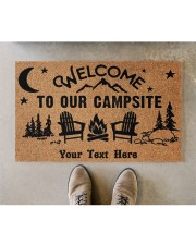"""To Our Campsite DD123110MA Customize Doormat 28"""" x 17"""" aos-doormat-28-x-17-lifestyle-front-04"""