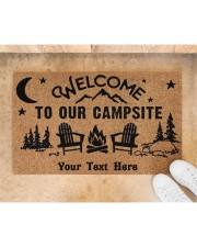 """To Our Campsite DD123110MA Customize Doormat 28"""" x 17"""" aos-doormat-28-x-17-lifestyle-front-05"""