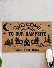 """To Our Campsite DD123110MA Customize Doormat 28"""" x 17"""" aos-doormat-28-x-17-lifestyle-front-06"""