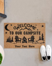 """To Our Campsite DD123110MA Customize Doormat 28"""" x 17"""" aos-doormat-28-x-17-lifestyle-front-07"""