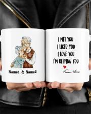 I Keeping You DD011322MA Customize Name Mug ceramic-mug-lifestyle-24