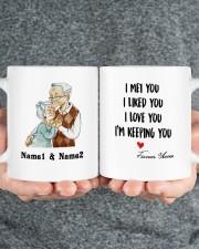 I Keeping You DD011322MA Customize Name Mug ceramic-mug-lifestyle-32