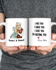 I Keeping You DD011322MA Customize Name Mug ceramic-mug-lifestyle-34