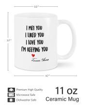 I Keeping You DD011322MA Customize Name Mug ceramic-mug-lifestyle-62