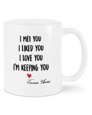 I Keeping You DD011322MA Customize Name Mug front