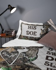 Buck And Doe DD011125MA Customize Name Queen Quilt Bed Set aos-queen-quilt-bed-set-lifestyle-front-09