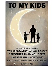 To my kids 2 girl-1 11x17 Poster front