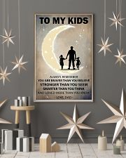 To my kids 2 girl-1 11x17 Poster lifestyle-holiday-poster-1