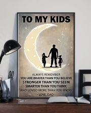 To my kids 2 girl-1 11x17 Poster lifestyle-poster-2