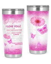 Father granddaughter Good Times Tumber 20oz Tumbler front