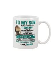 Father Son Old Lion Mug Personalize Mug front