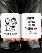 I'm Keeping Love You DD011320MA Customize Name Mug ceramic-mug-lifestyle-24