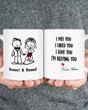 I'm Keeping Love You DD011320MA Customize Name Mug ceramic-mug-lifestyle-32