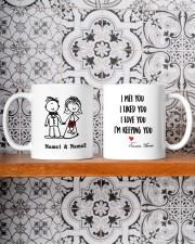 I'm Keeping Love You DD011320MA Customize Name Mug ceramic-mug-lifestyle-47