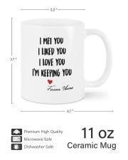 I'm Keeping Love You DD011320MA Customize Name Mug ceramic-mug-lifestyle-62