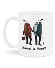 I Love You More DD010501MA Customize Name Mug back
