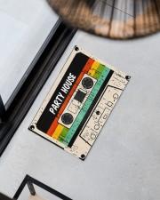 "Cassette Customize Name Doormat 22.5"" x 15""  aos-doormat-22-5x15-lifestyle-front-08"