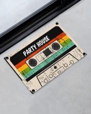 "Cassette Customize Name Doormat 22.5"" x 15""  aos-doormat-22-5x15-lifestyle-front-09"