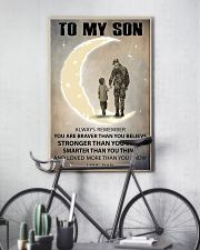 To my son 11x17 Poster lifestyle-poster-7
