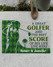 """A Great Golfer DD010413NA Doormat 34"""" x 23"""" aos-doormat-34-x-23-lifestyle-front-01"""