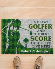 """A Great Golfer DD010413NA Doormat 34"""" x 23"""" aos-doormat-34-x-23-lifestyle-front-02"""
