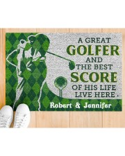 """A Great Golfer DD010413NA Doormat 34"""" x 23"""" aos-doormat-34-x-23-lifestyle-front-03"""