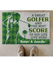 """A Great Golfer DD010413NA Doormat 34"""" x 23"""" aos-doormat-34-x-23-lifestyle-front-04"""