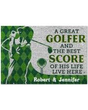 "A Great Golfer DD010413NA Doormat 34"" x 23"" front"