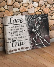True Love DD123101MA Customize Name 24x16 Gallery Wrapped Canvas Prints aos-canvas-pgw-24x16-lifestyle-front-12