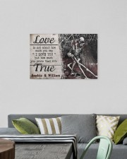 True Love DD123101MA Customize Name 24x16 Gallery Wrapped Canvas Prints aos-canvas-pgw-24x16-lifestyle-front-16