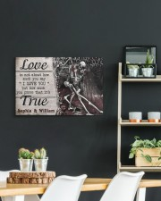True Love DD123101MA Customize Name 24x16 Gallery Wrapped Canvas Prints aos-canvas-pgw-24x16-lifestyle-front-19