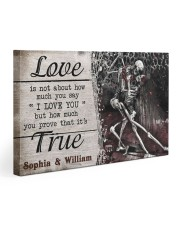 True Love DD123101MA Customize Name Gallery Wrapped Canvas Prints tile