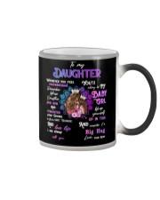 Mother daughter Big Hug Mug Color Changing Mug tile
